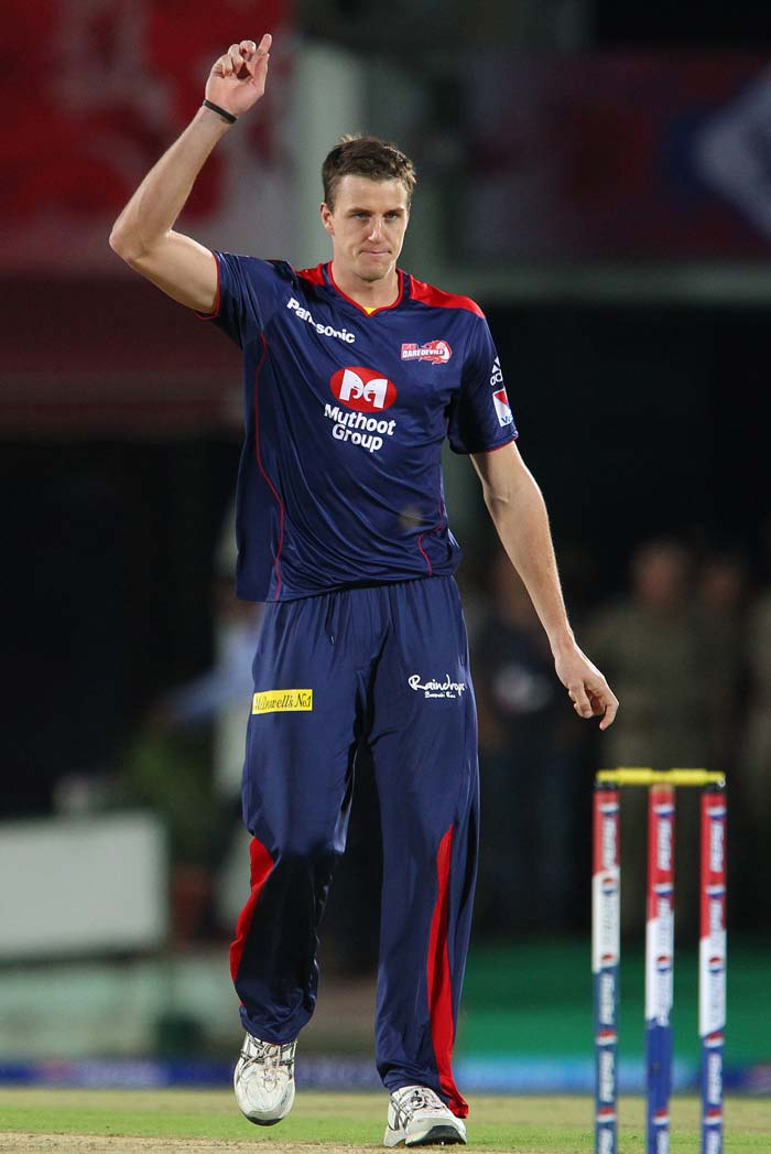 Morne Morkel was Delhi's lone ranger with 1 for 22 in four overs. (BCCI Image)