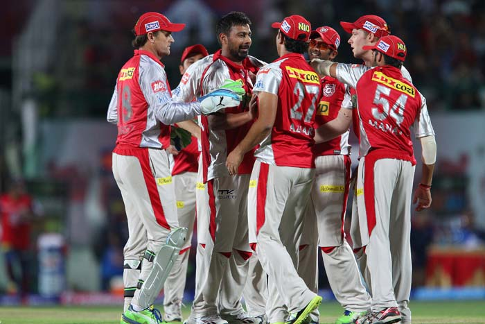 Kings XI Punjab kept themselves on track for a playoff berth with a 7-run win over Delhi Daredevils in Dharamsala. (BCCI Image)