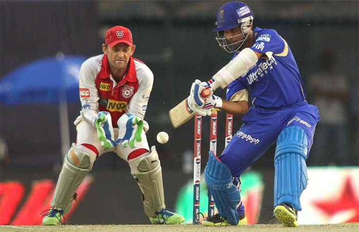 Rajasthan Royals moved to second spot in the points table after an 8-wicket win over Kings XI Punjab in Mohali. (BCCI Image)