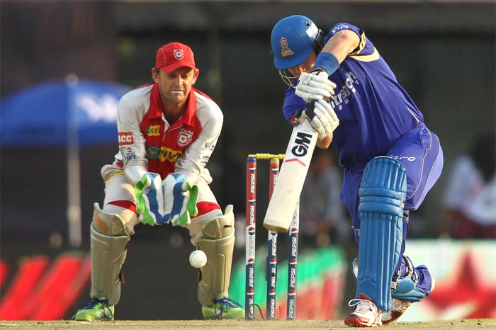 Shane Watson hit a quick 31 to ease the pressure off Rahane. (BCCI Image)
