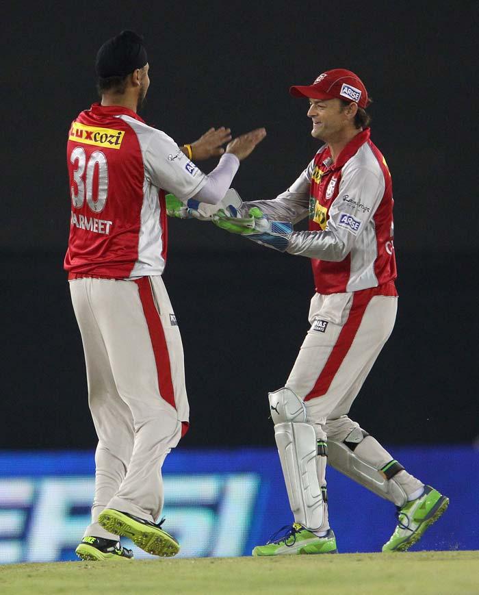 Harmeet Singh got the important wicket of Shikhar Dhawan. (BCCI Image)