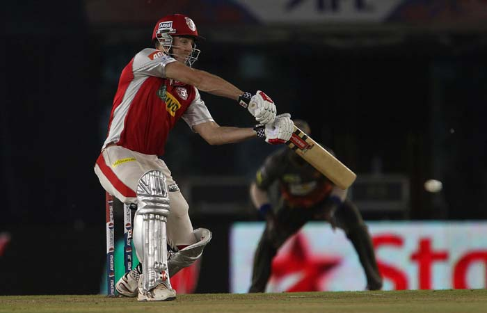 Shaun Marsh and Adam Gilchrist added 45 important runs for the 2nd wicket. (BCCI Image)