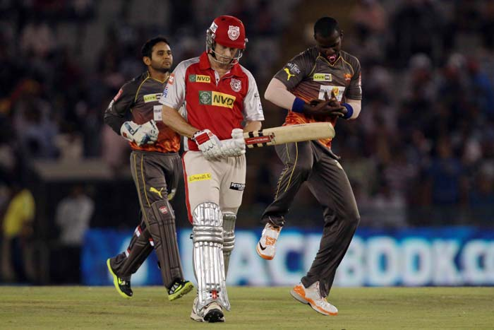 Darren Sammy removed them in quick succession and that had Punjab on the back-foot. (BCCI Image)