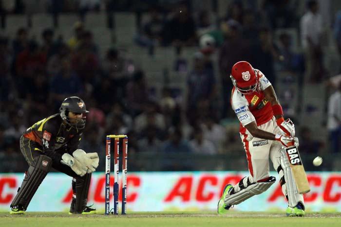 Rajagopal Sathish hit 25 from 18 while Luke Pomersbach scored 33 not out from 40 to give Punjab a fighting chance. (BCCI Image)
