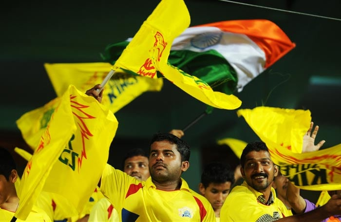 The Chennai fans could perhaps sense that the rains and the eventual reduction in overs had left their team at a slight disadvantage as S Badrinath followed Raina back.