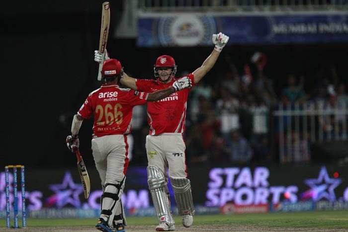 David Miller recorded his 17th fifty in T20s - his 18th innings of fifty or more in Twenty20. His 19-ball fifty is the quickest by a Kings XI player in Twenty20s.