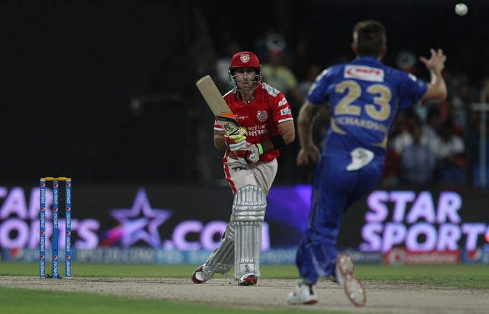 Glenn Maxwell and Cheteshwar Pujara then steadied the ship and added 116 for the third wicket to bring Kings XI Punjab back in the game.