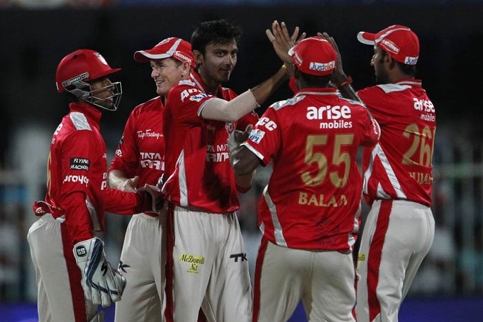 Kings XI Punjab recorded their fourth win in 12 matches vs Rajasthan Royals at the IPL (Lost eight).