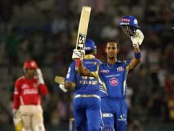 Photo : IPL 7: Lendl Simmons' Century Keeps Mumbai Indians Alive