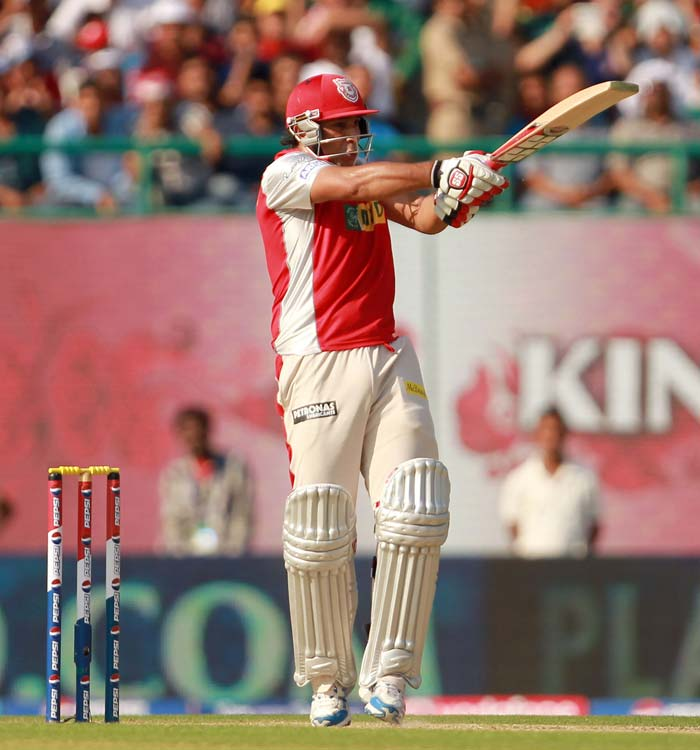 Azhar Mahmood smashed 80 from 44 as he used the long handle to good effect. (BCCI Image)