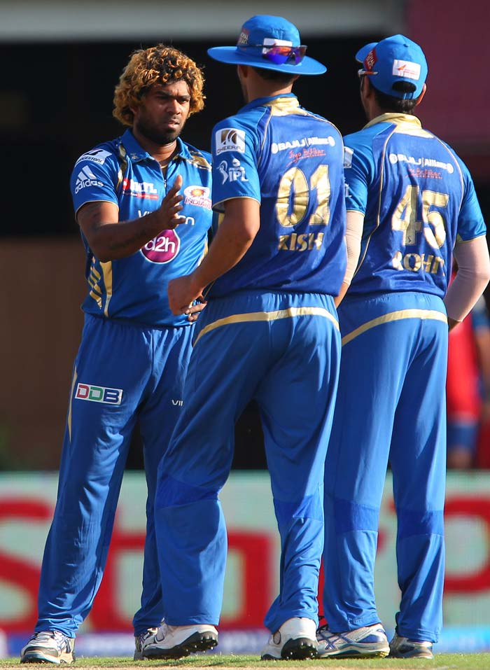 Lasith Malinga was the pick of the bowlers with 3 wickets. (BCCI Image)