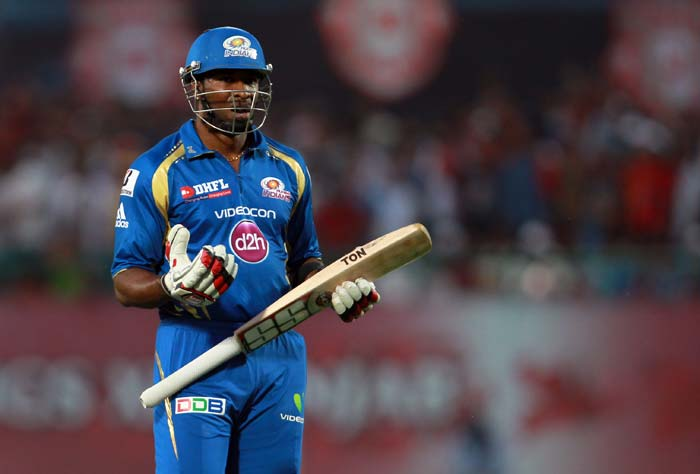 Kieron Pollard kept Mumbai in the hunt for a while as his partners came and went. (BCCI Image)