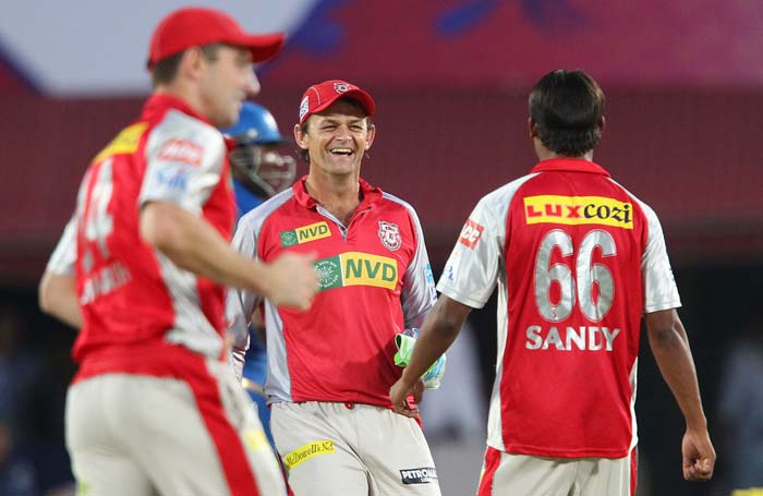 Kings XI Punjab ended their IPL 2013 campaign with a 50-run win over Mumbai in Dharamsala. (BCCI Image)