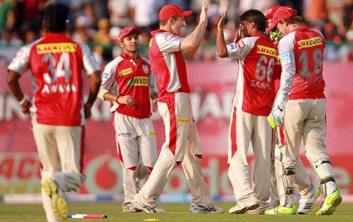 Punjab struck early getting Glenn Maxwell and Aditya Tare. (BCCI Image)