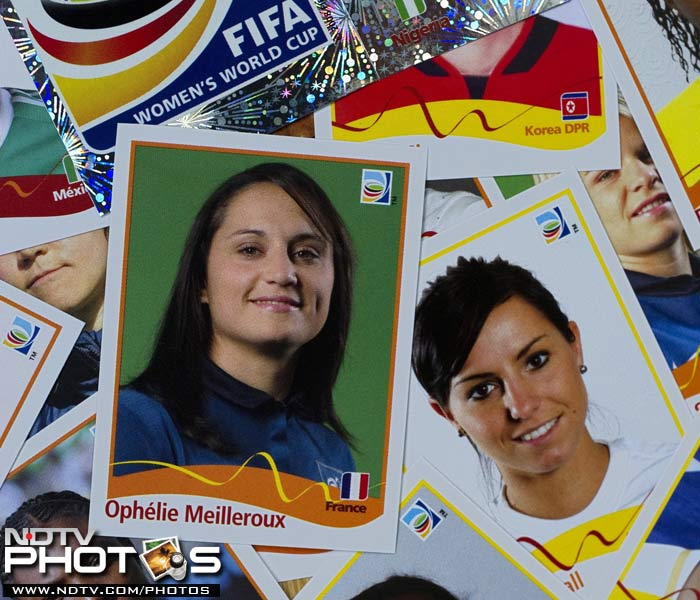 Stickers and posters of every participating player has been officially released by the event organisers. (AFP Photo)