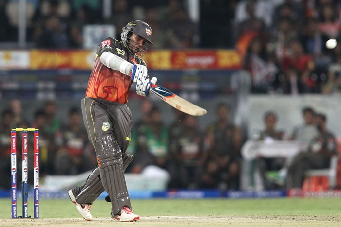 For Sunrisers, Patel top-scored with 47 off 37 while Dhawan got 42 off 35. Kolkata bowlers tried their level best but a the target was too less to defend. (BCCI Image)