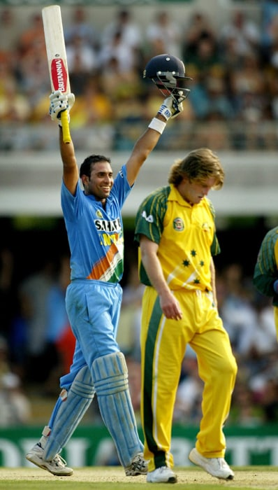 Laxman's heroics in Tests meant that he could not be left out of the ODI squad for long.<br><br> Out of the 6 ODI centuries he has scored, 4 have come against Australia.