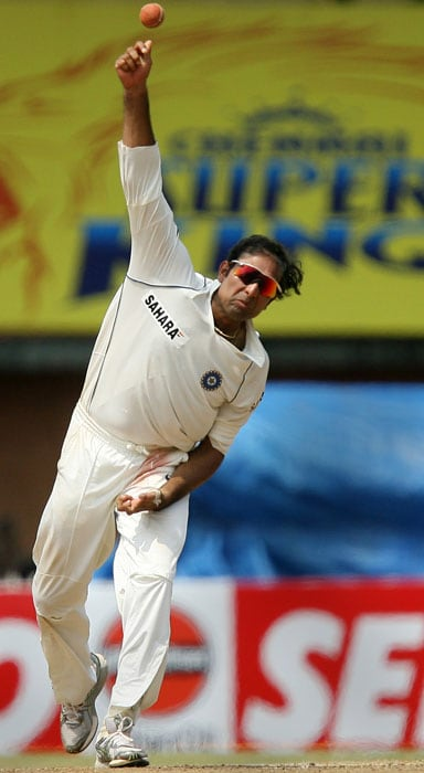Once a regular bowler in the Hyderabad Ranji team, Laxman's off-spin skills were not put to much use in international cricket.<br><br> He though has bowled occasionally in both forms of the game and also has 2 Test wickets to his credit.