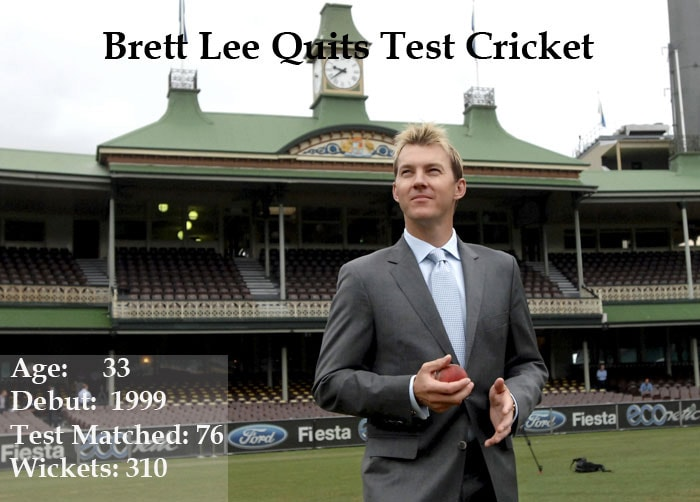 If there was one cricketer who can really warm up the ties between India and Australia, it has to be Brett Lee as his love for India is a known fact and he enjoys a huge fan base here. As Binga announced his Test retirement, we take a look at his Indian connection.