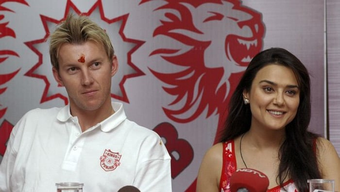 Brett Lee had taken part in the IIFA awards at Singapore in 2004 where he was warmly received by the Indian film fraternity. He had presented an award to Preity Zinta. Little did he know that few years down the line he would be playing for her team in the IPL.