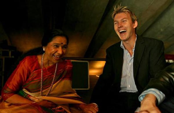 "Brett Lee, who is known to be a guitarist in his band Six & Out, had recorded a duet ""You're The One For Me"" with Indian legend Asha Bhosle a few years back."