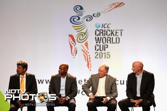 At the launch of the ICC 2015 Cricket World Cup, legends Kapil Dev, Sanath Jayasuriya and Australians Dennis Lillee and Ian Chappell went back in time to relive glorious World Cup campaigns of the past.