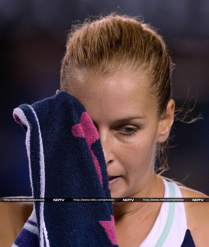 Cibulkova, 20th seed, was no match to Li Na in the second set and as she was broken twice at 4-0, she knew she'd have to wait a while longer to win a Grand Slam.