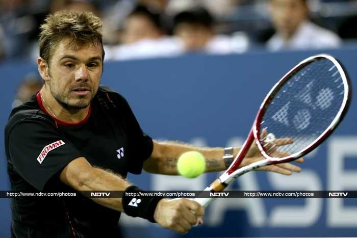 Stanislas Wawrinka outlasted Tomas Berdych in two hours and 47 minutes to claim a 3-6, 6-1, 7-6 (8/6), 6-2 victory.