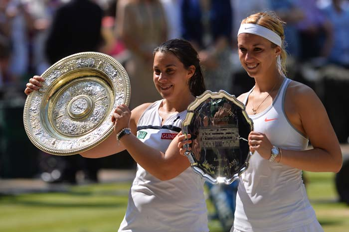 In the end, it was the determined Bartoli who sealed the win and got a well-deserved title, which she failed to clinch six years back. On the other hand, reaching her first Grand Slam final was an achievement in itself for the rising star of women's tennis - Sabine Lisicki.
