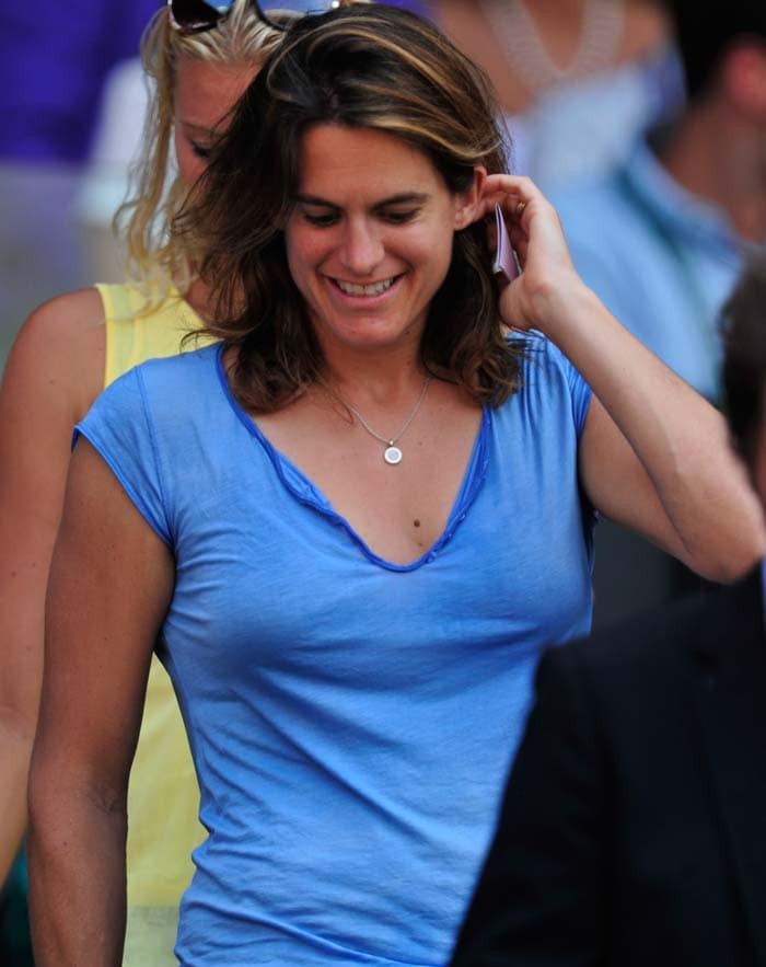 The last Frenchwoman to win a Grand Slam was Amelie Mauresmo, who won the 2006 Australian Open and Wimbledon titles. She was present at the Center Court arena, the venue for the 2013 Wimbledon women's finals.