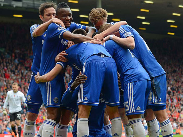 EPL: Chelsea halt Liverpool F.C.'s title surge with win at Anfield