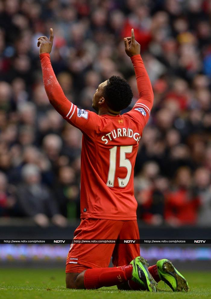 Daniel Sturridge was also forceful and he scored twice in the match.