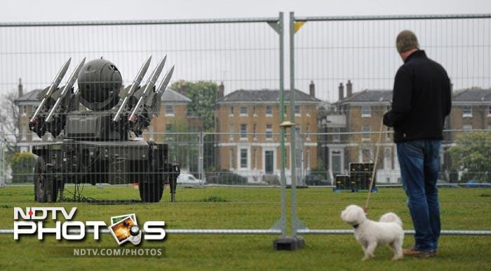 The Rapier and smaller high-velocity missiles were deployed as part of Exercise Olympic Guardian, a nine-day training operation to test the response to a possible attack during the Games.