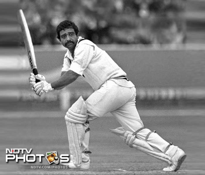 He is still among the favourites in the list of many people who have watched him play. He had the knack of coming good when the chips were down. And, he did exactly that at Lord's in the 2nd Test in 1979. After India were bowled out for a mere 96 runs in the first innings, Viswanath combined with Vengsarkar in the 2nd inning to avert disaster and ensure a draw. In the same match that Vengsarkar scored 103, Viswanath struck a patient 113.