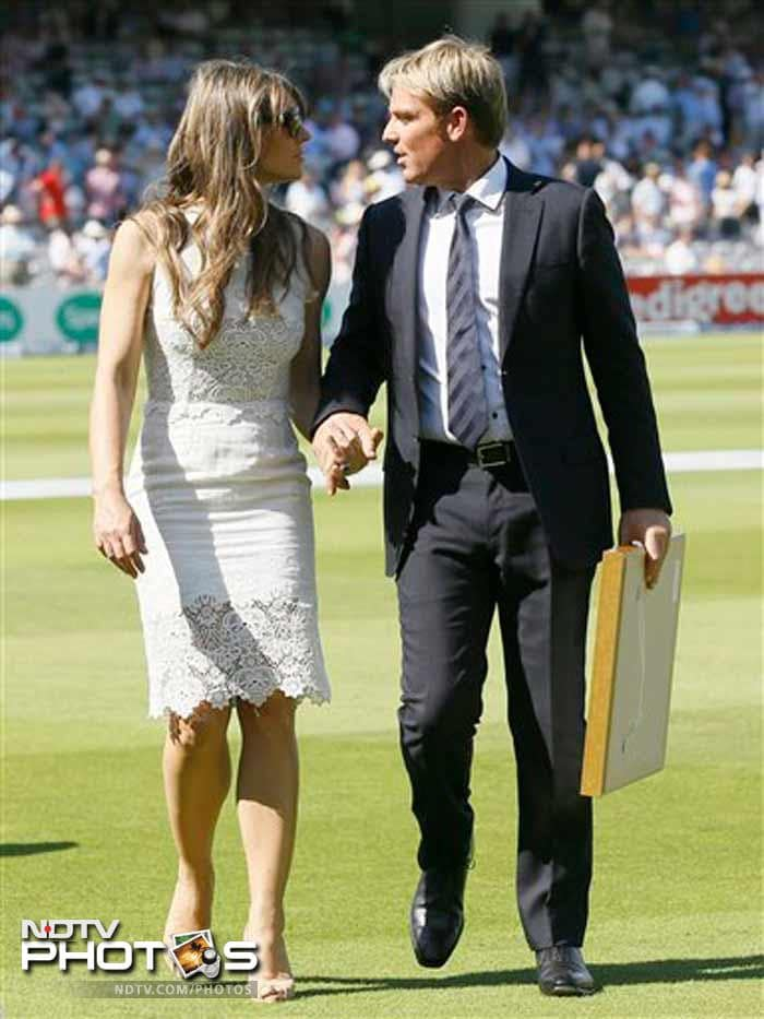 Australia great Shane Warne was inducted into the International Cricket Council Hall of Fame at Lord's. The leg-spin legend received the honour during the tea interval.