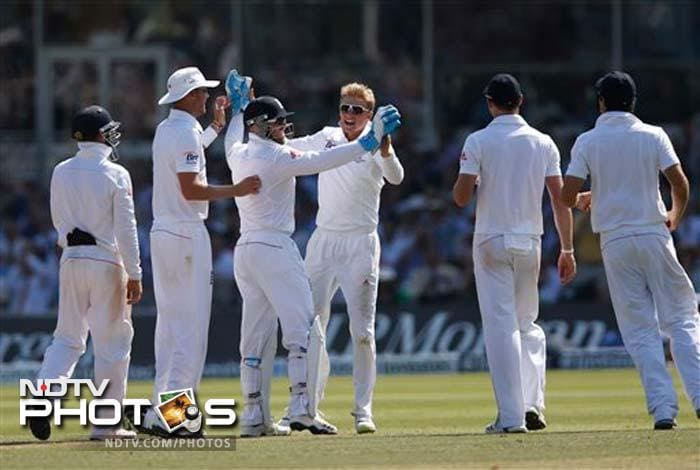 England thrashed Australia by 347 runs to win the second Ashes Test at Lord's on Sunday with more than a day to spare. (All AFP and AP images)