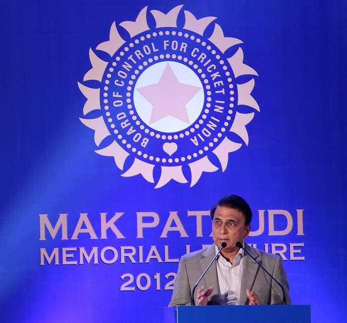 Sunil Gavaskar on 20th February delivered the MAK Pataudi Memorial Lecture to honour former India captain the late Tiger Pataudi.