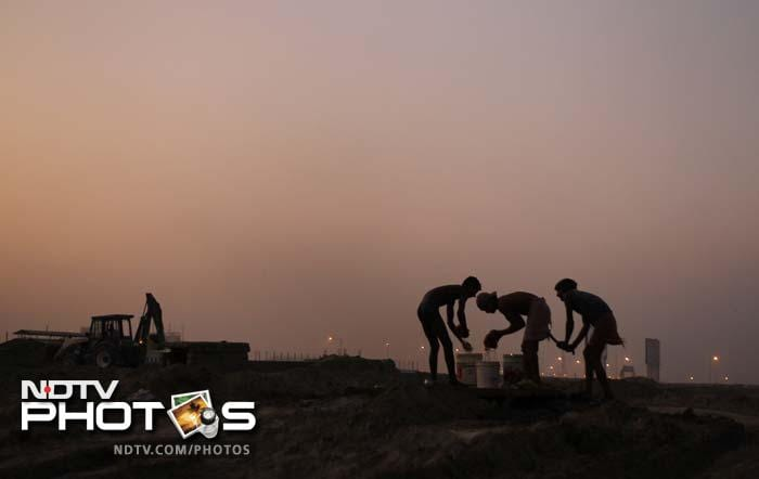 Dawn to dusk and dust to lush...these workers have truly made the Indian GP a reality.
