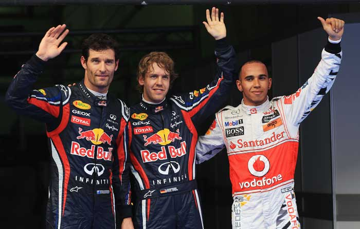 An unbelievable coincidence formulated after the Malaysian Grand Prix qualifying as the same five drivers who finished on top of the Australian Grand Prix grid finished on the very same spots. (Getty Images)