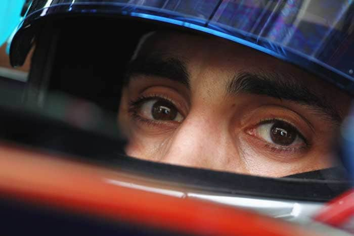 Swiss driver Sebastien Buemi will start in twelfth spot in his Toro Rosso. (Getty Images)