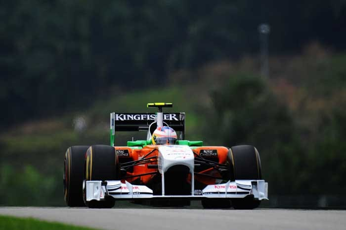 Force India's Paul di Resta finished in 14th spot to continue their poor show in this season so far. (Getty Images)