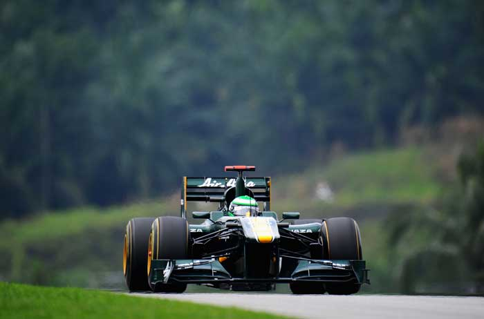 Lotus' Heikki Kovalainen will start from the 19th position. (Getty Images)