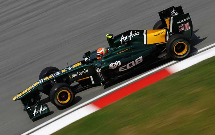 Italy's Jarno Trulli of Lotus will start from the 20th position. (Getty Images)