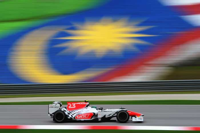 Italy's Vitantonio Liuzzi of Hispania Racing will start in the 23rd position. (Getty Images)