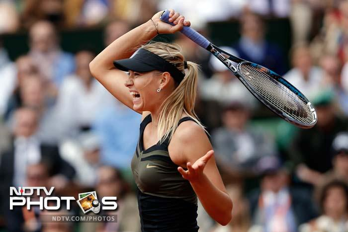 The Russian, playing in her first final at Roland Garros at her 10th attempt, moved 3-0 up and then converted a third break point to take a 4-0 lead.
