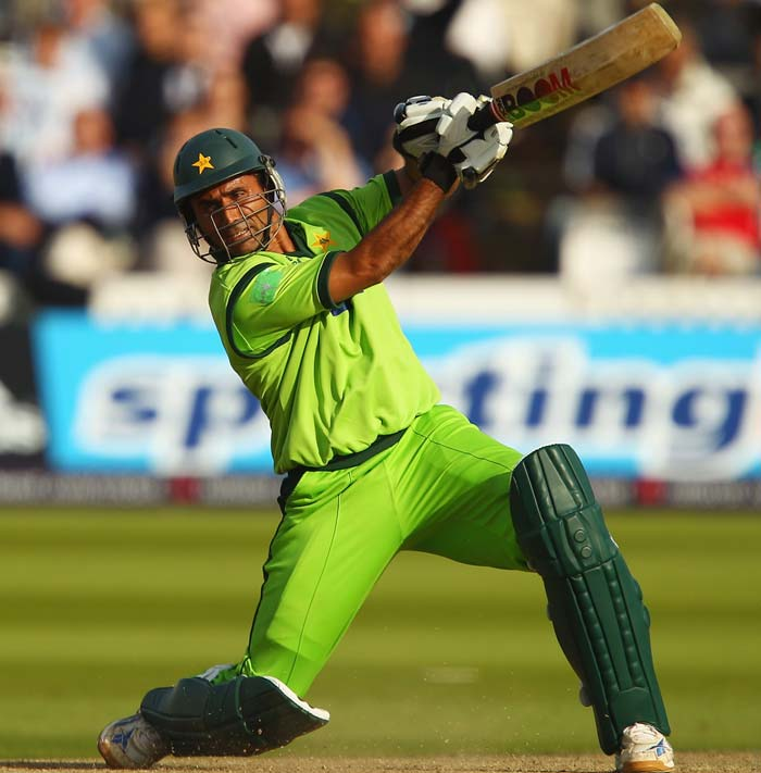 Abdul Razzaq (2010): South Africans were left dumb-founded when Razzaq came to the middle and took 60 runs in only hits for the maximum at Abu Dhabi. He finished his innings unbeaten on 109. (Getty Images)