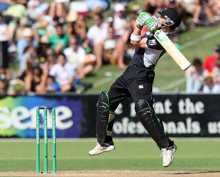 Brendon McCullum (2008): New Zealand destroyed Ireland when McCullum unleashed his full fury to hit the ball into the stand 10 times in his knock of 166 at Aberdeen. (Getty Images)