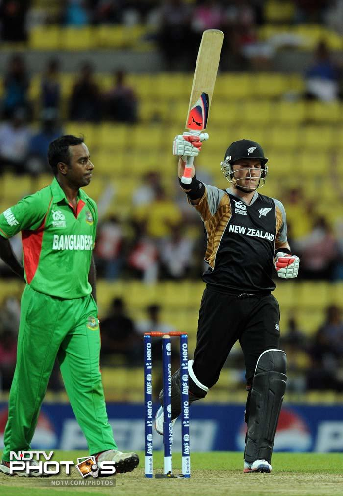 His fifty came off just 29 balls and had five boundaries and two sixes.