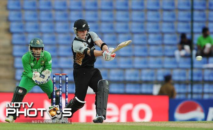 McCullum was on the offensive early and shifted the momentum back in his team's favour.