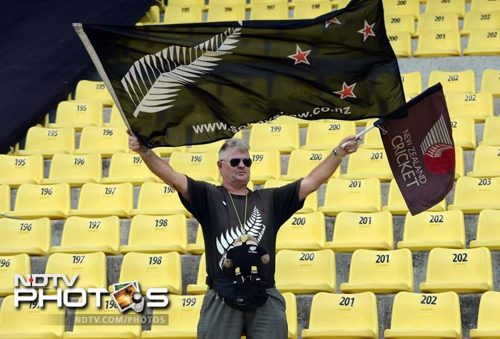 The New Zealand fans, not many here, had a lot to cheer about as McCullum completed his century off 51 balls and went on to add 23 more. His innings had 11 boundaries and seven sixes. He is now the highest individual T20 scorer.<br><br>McCullum was already the highest run-getter in the format. He now leads a list of seven batsmen with international T20 tons, surpassing his best of 116 en route. Click on for the list.